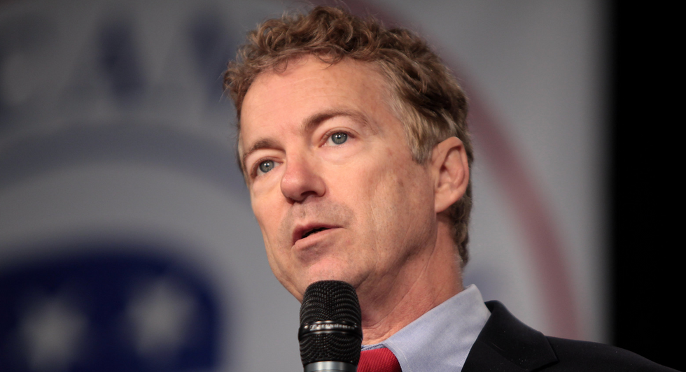 Why is the media ignoring Rand Paul's disastrous and extreme plan to gut the federal government?