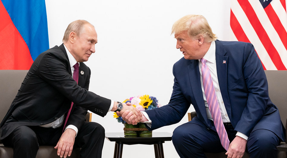 Trump stood up for Putin and clashed with world leaders on the importance of democracy at G7 summit: reports