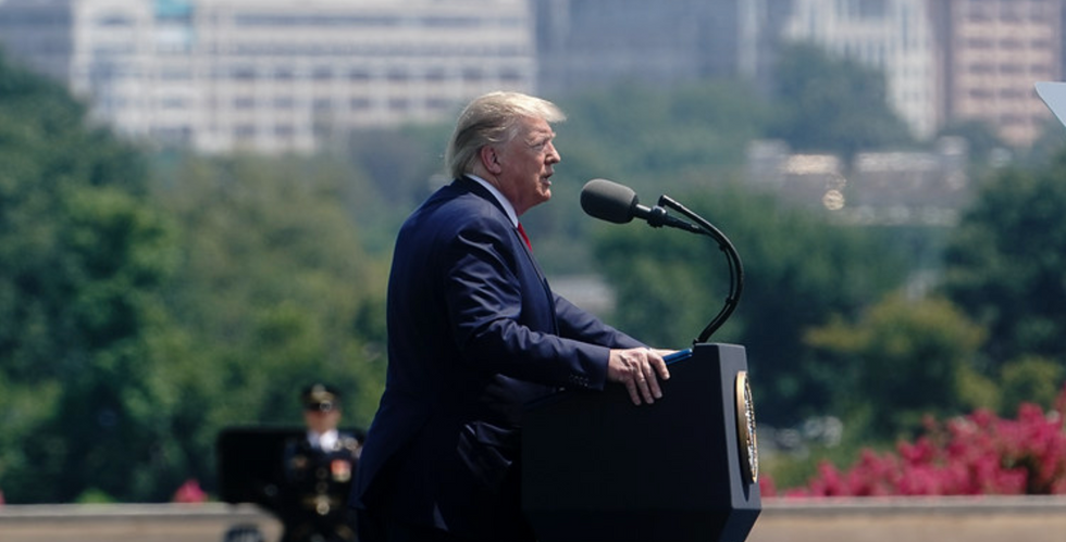 Trump's 'unapologetic' campaign refuses to end ads featuring 'invasion' rhetoric — even as the president visits El Paso