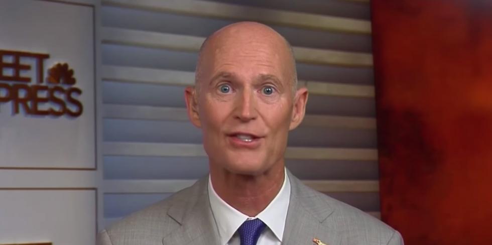 Florida paper blasts GOP Sen. Rick Scott's 'full partisan' defense of Trump in scathing editorial