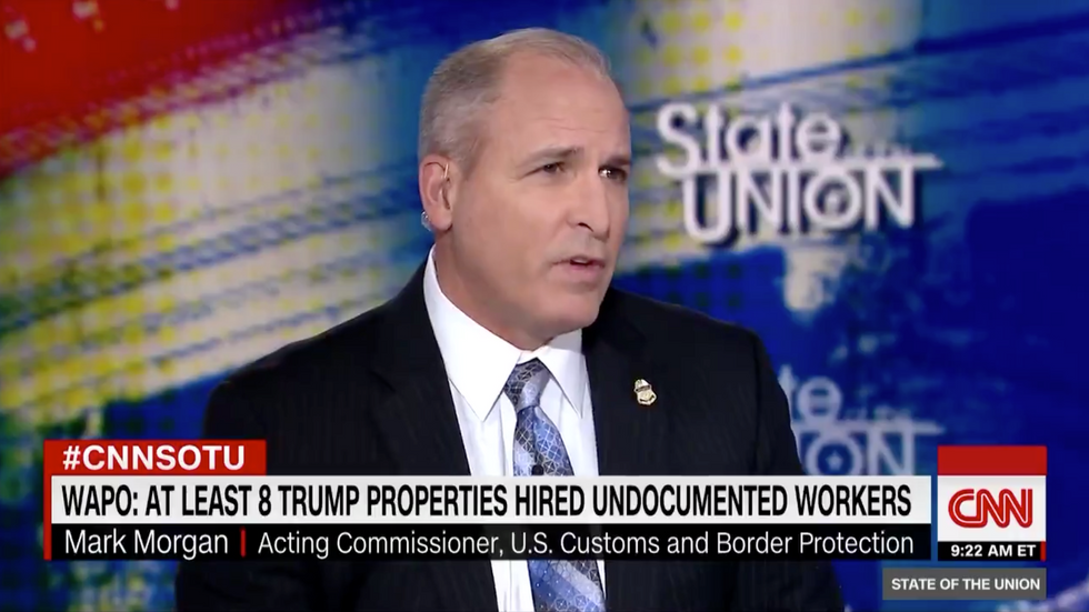 Top official refuses to say if Trump is also being investigated for exploiting undocumented labor