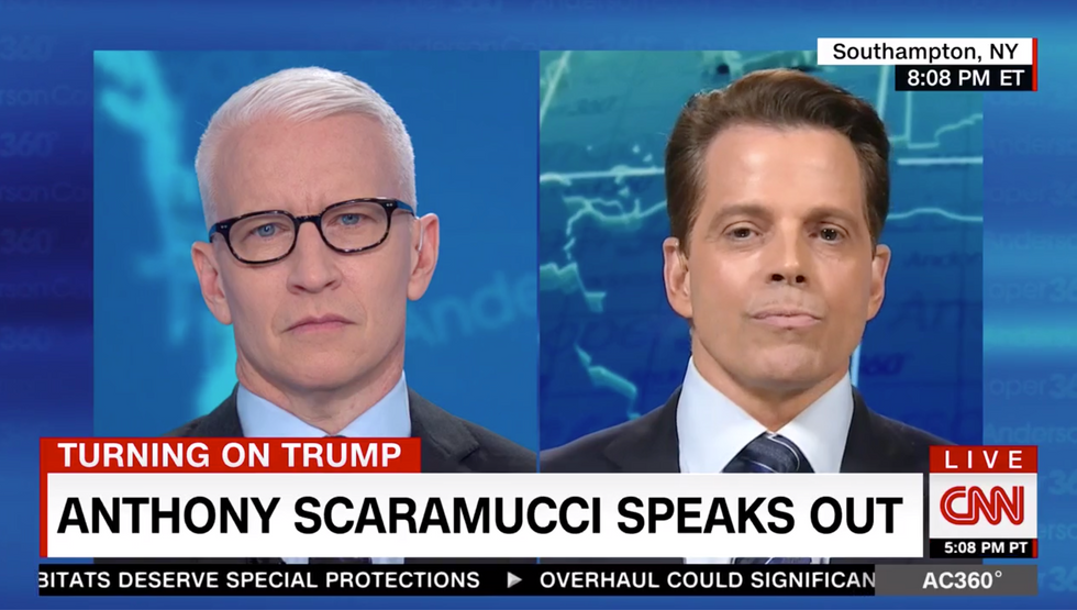 Anthony Scaramucci's argument that Trump isn't a racist makes no sense: 'He treats people like objects'