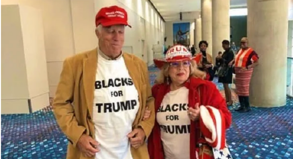Trump team's outreach to black voters is both comical and grounded in delusion