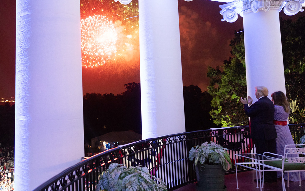 It's official: Trump is going to try to make the Fourth of July all about himself