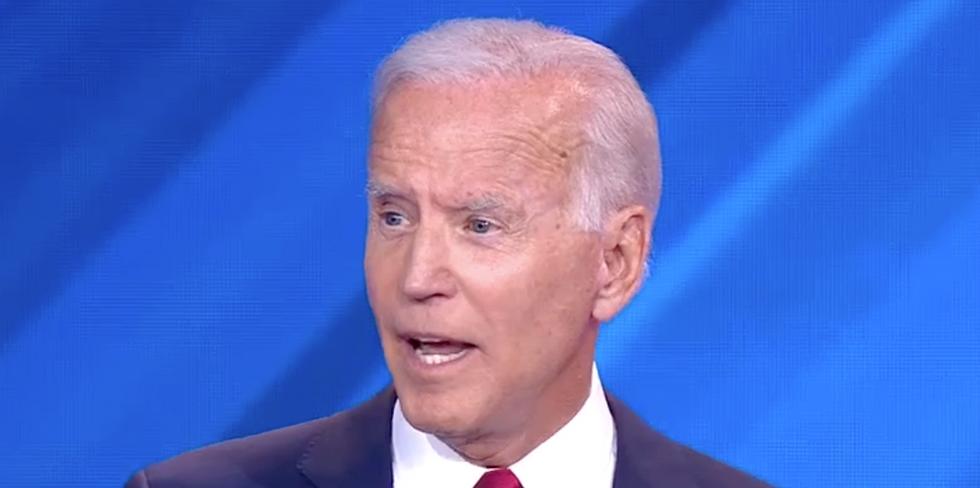 Joe Biden's slip-ups during the debate were so bad Bernie Sanders seemed to try to comfort him