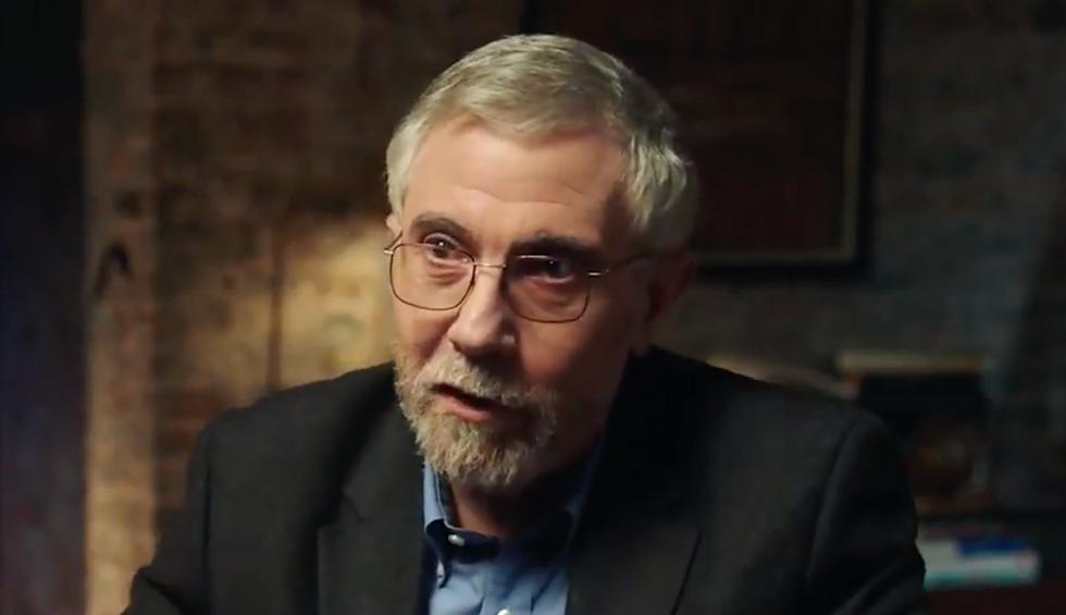 Nobel Laureate Paul Krugman explains why Elizabeth Warren terrifies Wall Street billionaires: They 'expect to be treated like kings'