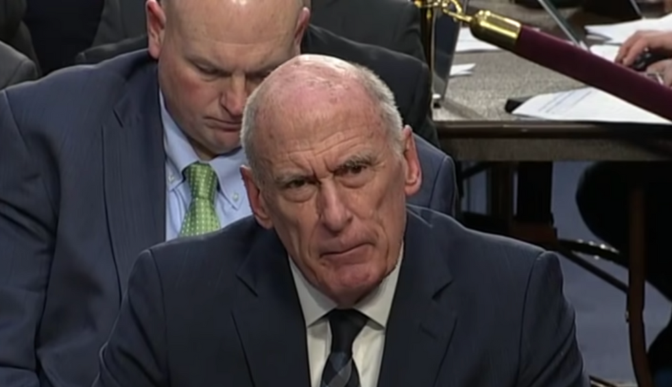 Former Trump Intel chief warns US democracy is threatened by 'sinister conspiracies' to undermine election