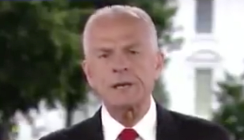 Trump adviser says his China trade deal has collapsed — and spins a wildly dangerous conspiracy theory