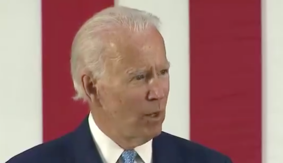 Biden brings the fire in speech attacking Trump: 'Our wartime president has surrendered'