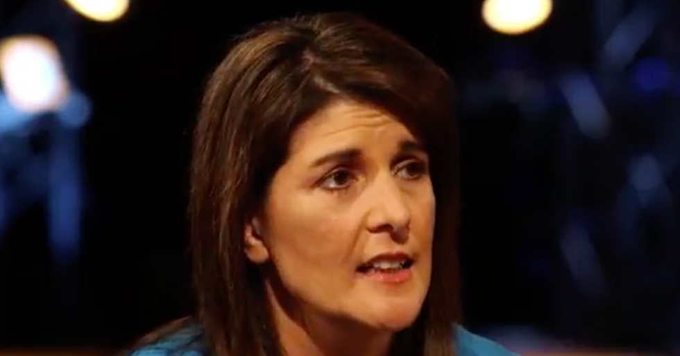 Nikki Haley gets widely mocked for bizarre defense of the Confederate Flag