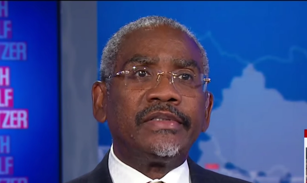Democrat reveals how Kim Jong-un is 'playing' Trump  — and argues 'the real low-IQ person is the president'