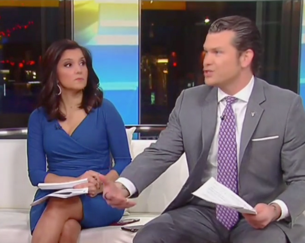 Fox & Friends descends into chaos as one host actually calls out Trump's ridiculous attack on Democrats