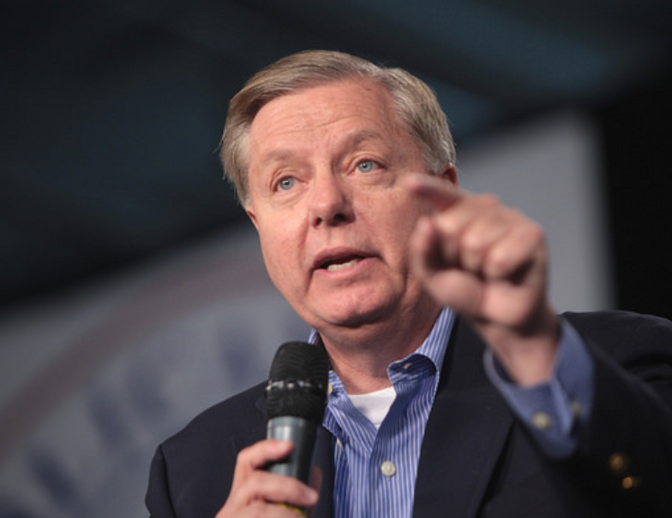 Lindsey Graham says Trump's wall is a 'metaphor'—but the president doesn't seem to get that