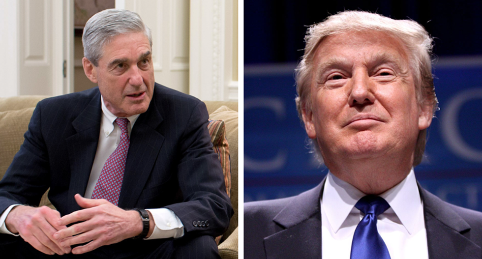 Frantic White House advisers try to downplay Trump's irresponsible threat to stop Mueller from talking