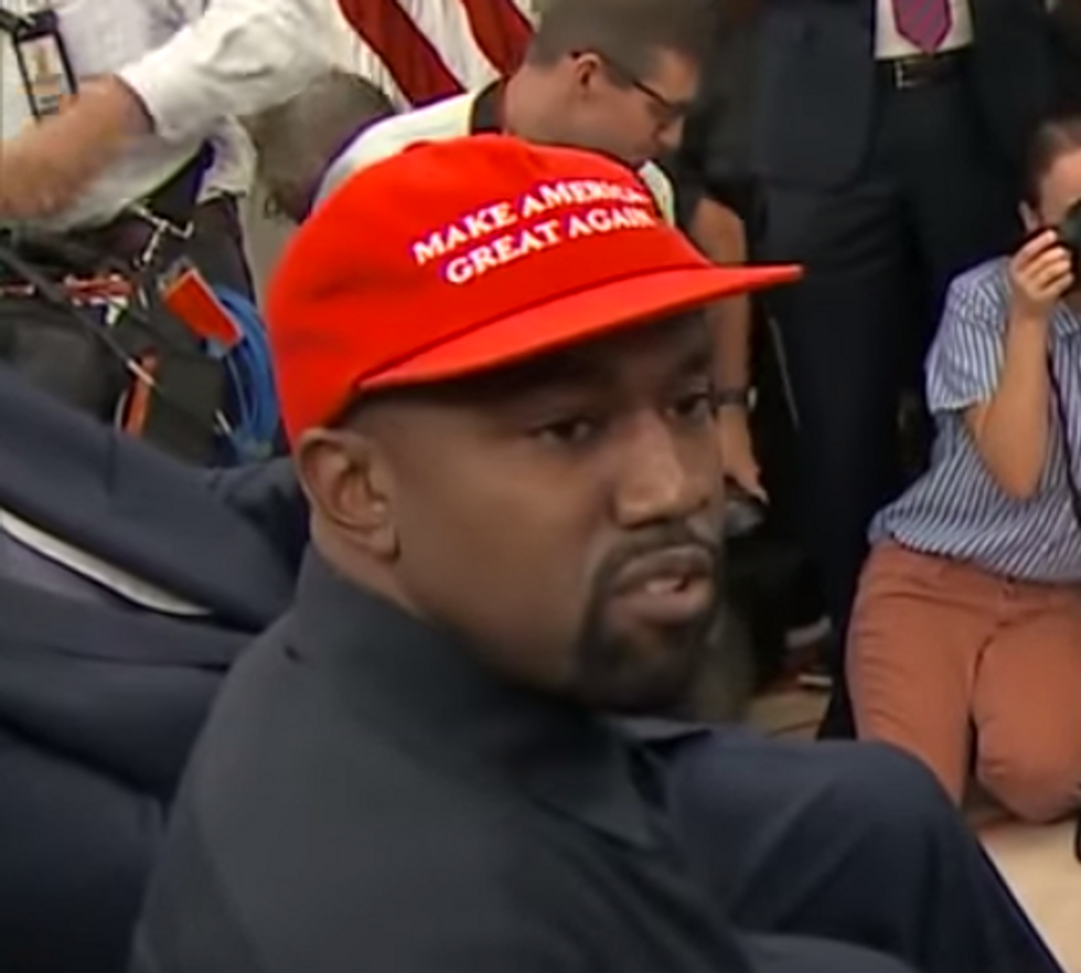 'Trump all day': Kanye West is back with his irreverent and bizarre political commentary — after saying he'd left it behind