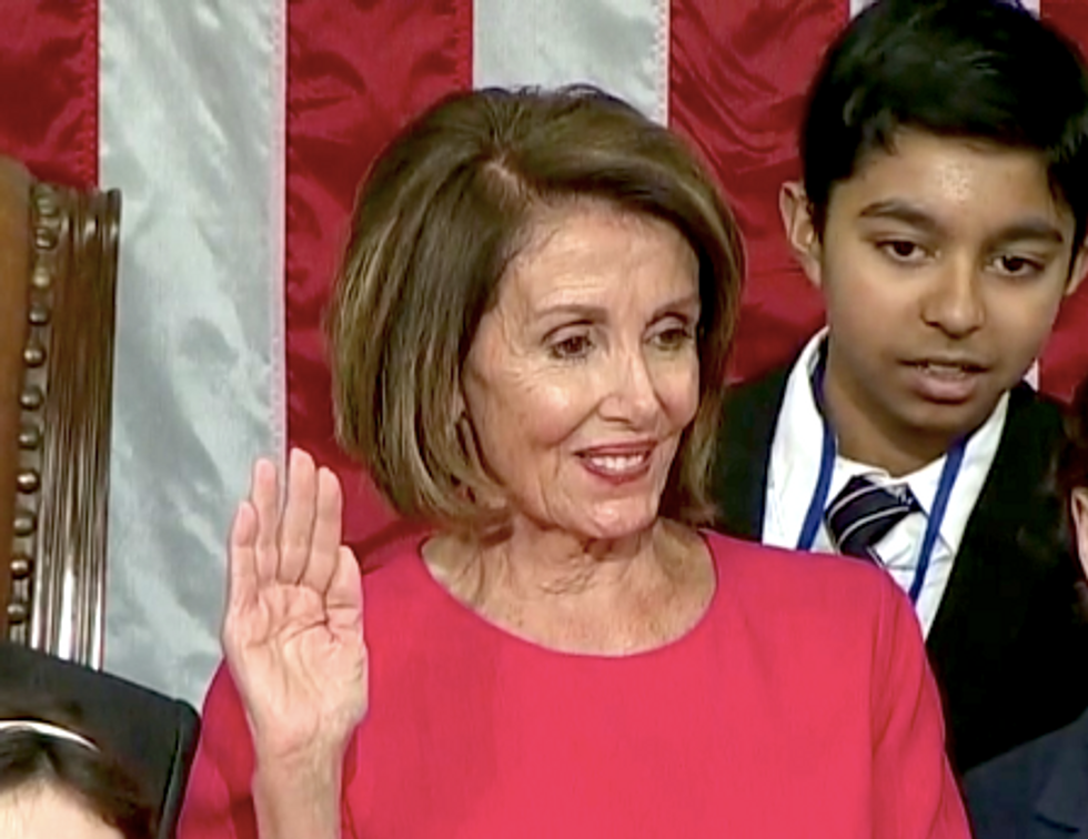 Conservative writer argues that newly selected Speaker Pelosi should 'terrify Trump cronies'