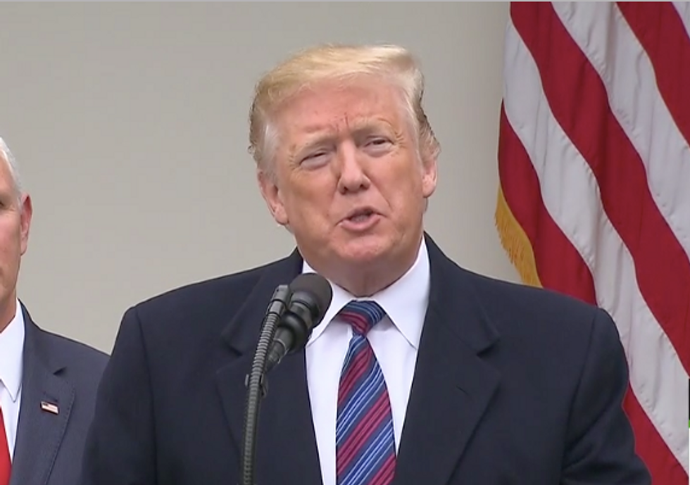 Here are 7 of Trump's delusional moments from his rambling and ridiculous press statement on the shutdown fight