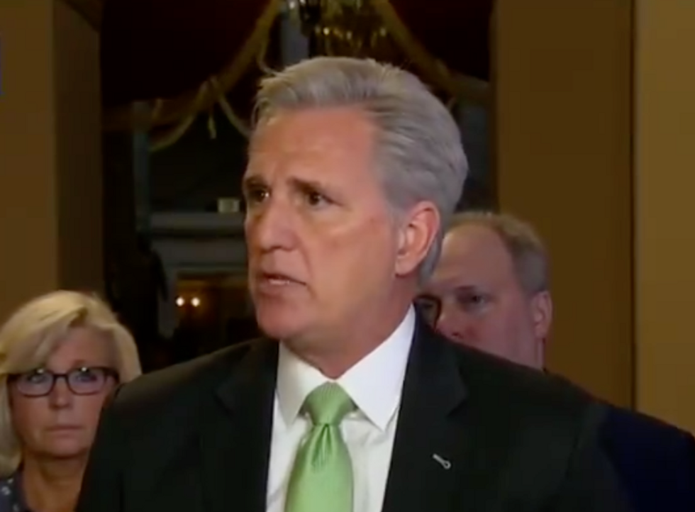 Republicans become unglued after a Democrat used 'foul language' to call for impeaching Trump