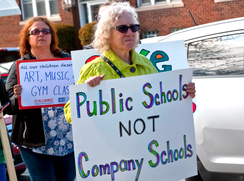 'Privatization is going to kill this city': How progressives are fighting the plot to gut public education