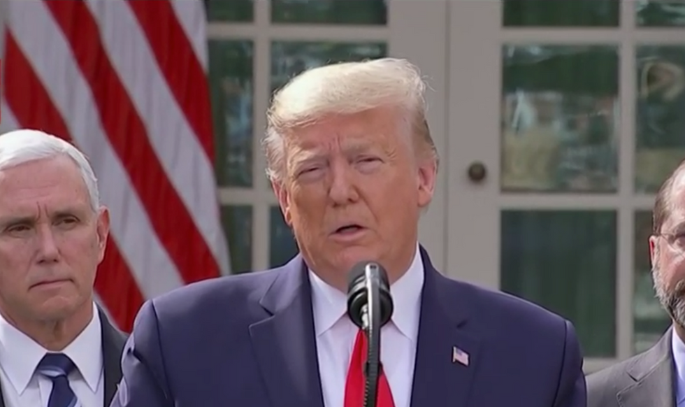 'It's a nasty question': Trump lashes out at reporter who asks about disbanded pandemic group