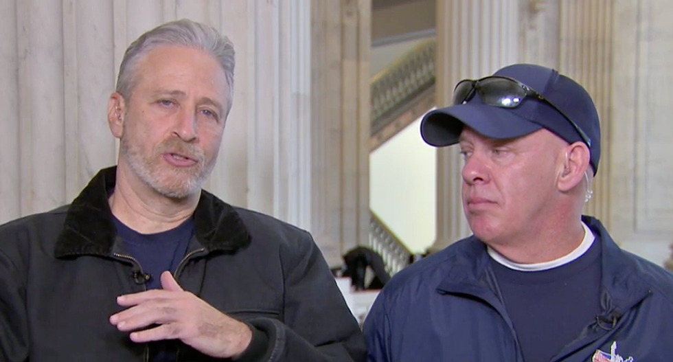 Jon Stewart demands Congress 'step up' for 9/11 heroes: 'This is a national embarrassment and crisis'