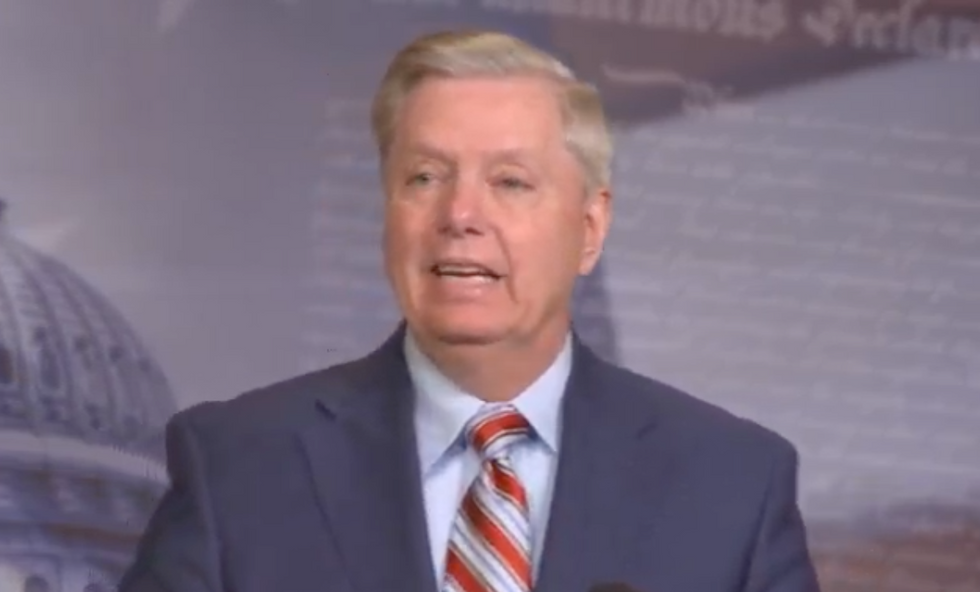 Lindsey Graham delivers absurd comments showing he's still obsessed with Hillary Clinton's emails