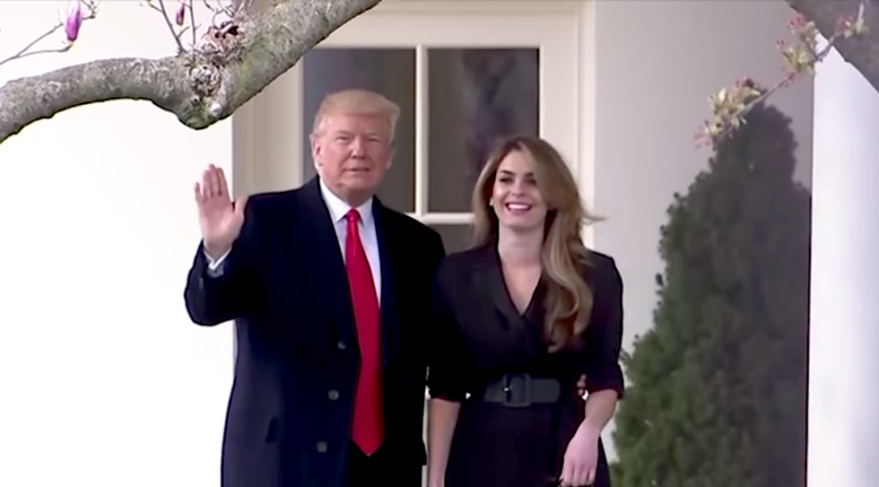 Hope Hicks defies White House demand to ignore congressional subpoenas  — turns documents over to House Judiciary Committee