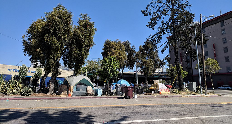 'Internment camps for the homeless': Housing advocates horrified by Trump's push for a 'crackdown' on California homelessness