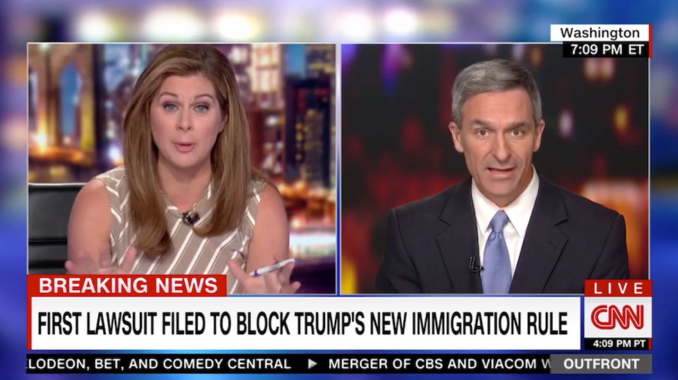 Trump official defends new punitive policy in heated CNN interview by saying immigrants used to come 'from Europe'