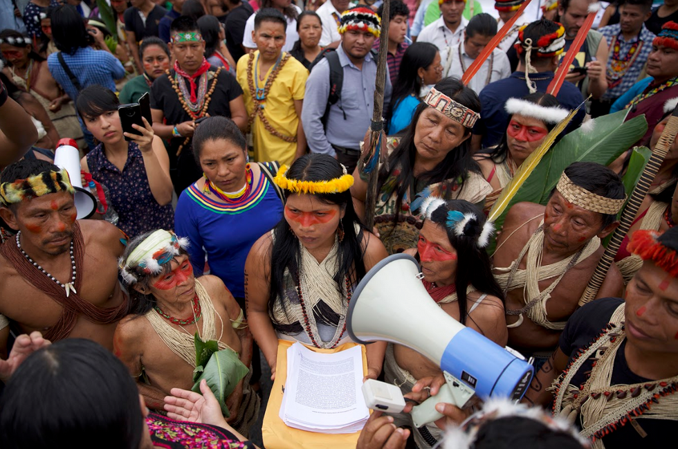 'We do not want to disappear': Indigenous peoples go to court to save the Amazon from oil company greed