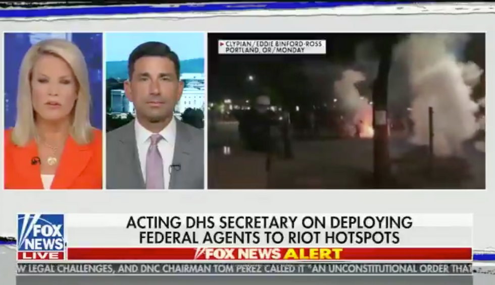 Trump's acting Homeland Security secretary just made a damning admission on Fox News