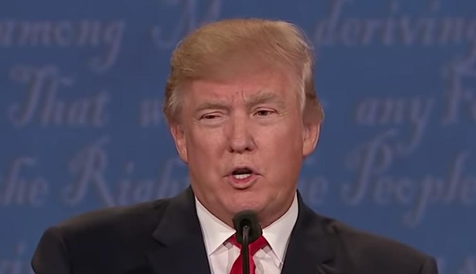 A columnist makes the case that debate moderators shouldn't be afraid to embarrass Trump