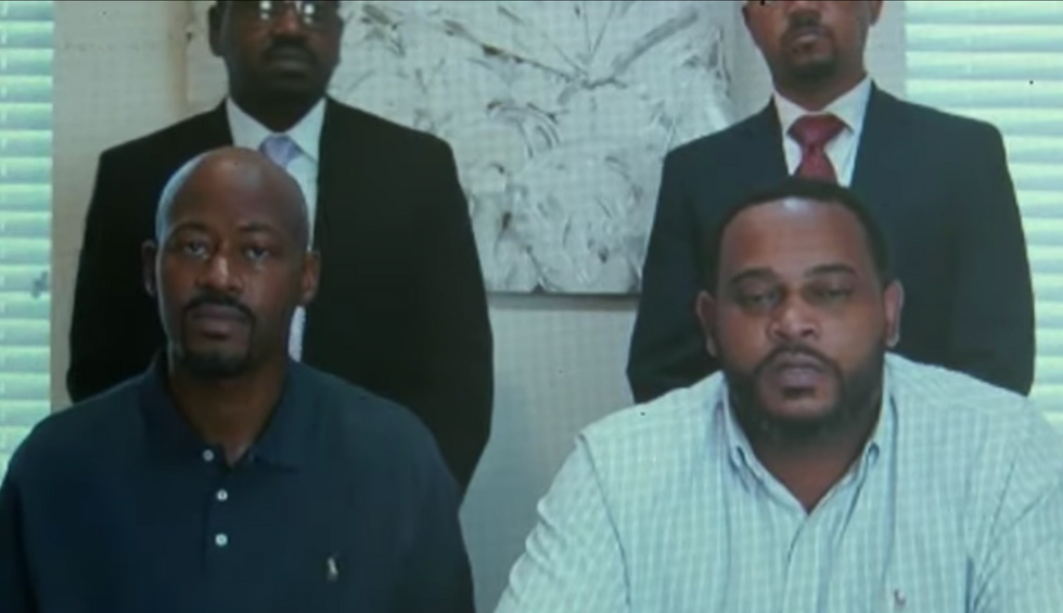 Unarmed Black dad and 10-year-old son returning U-Haul truck are shot at by white couple