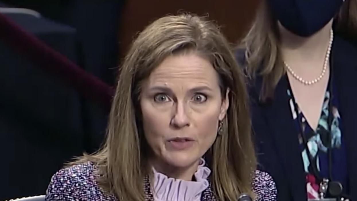 Senate Republicans confirm Amy Coney Barrett for the Supreme Court