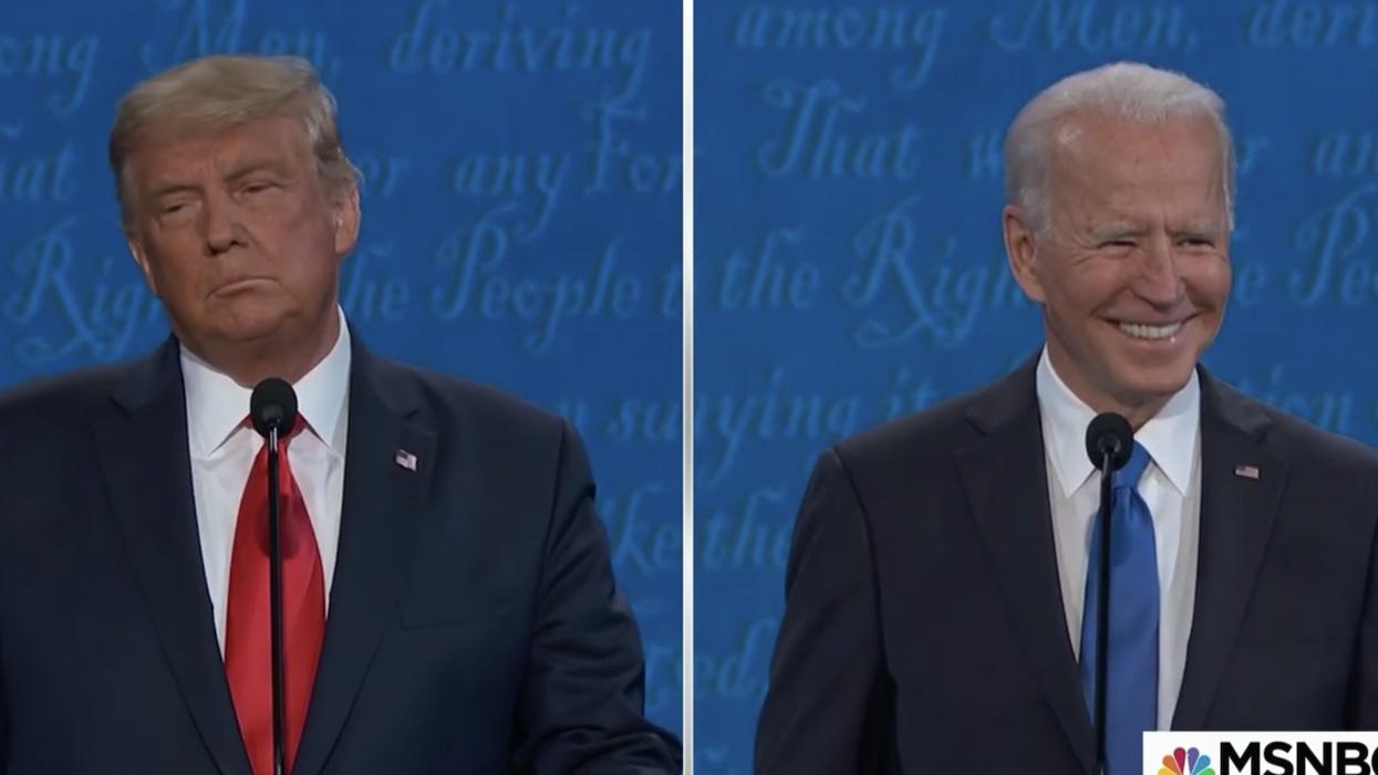 Joe Biden just wiped the floor with Trump