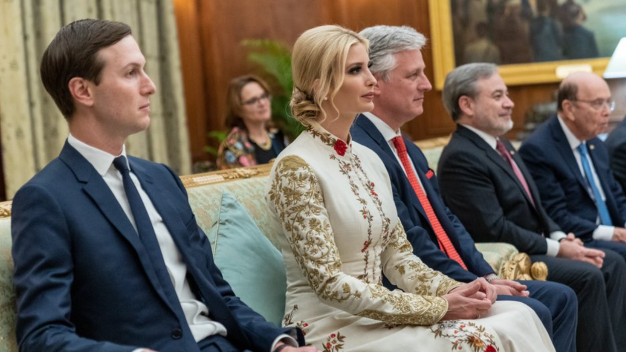 'Glossy grifters' Ivanka and Jared threw it all away for Trump — and now they'll pay: NYT columnist