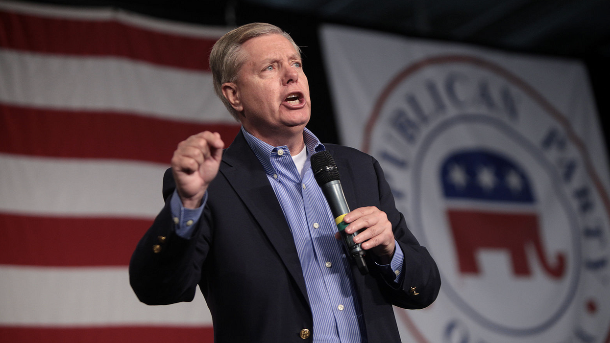 Top government ethics expert accuses Lindsey Graham of 'conduct that threatens the foundation of our republic'