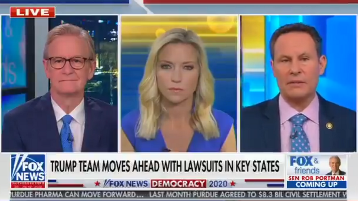 Fox News' Brian Kilmeade urges Trump to cooperate with Biden's transition team
