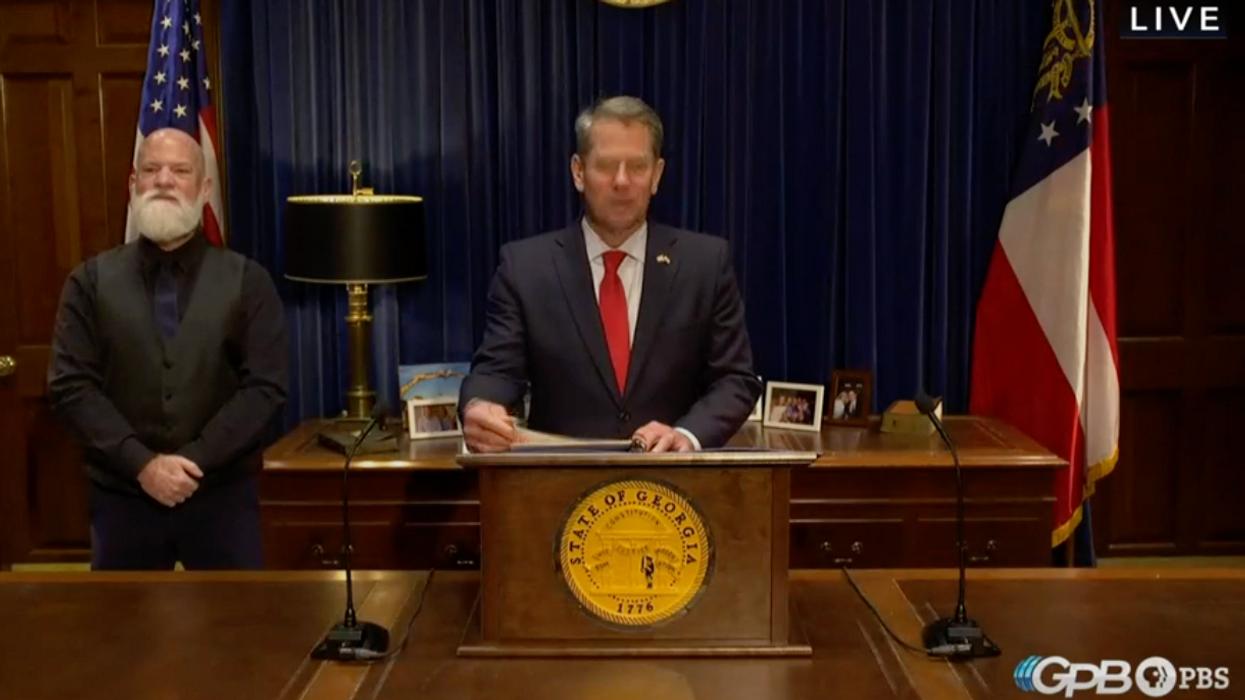 Georgia Republicans turn on GOP Gov. Brian Kemp: He 'will be primaried'