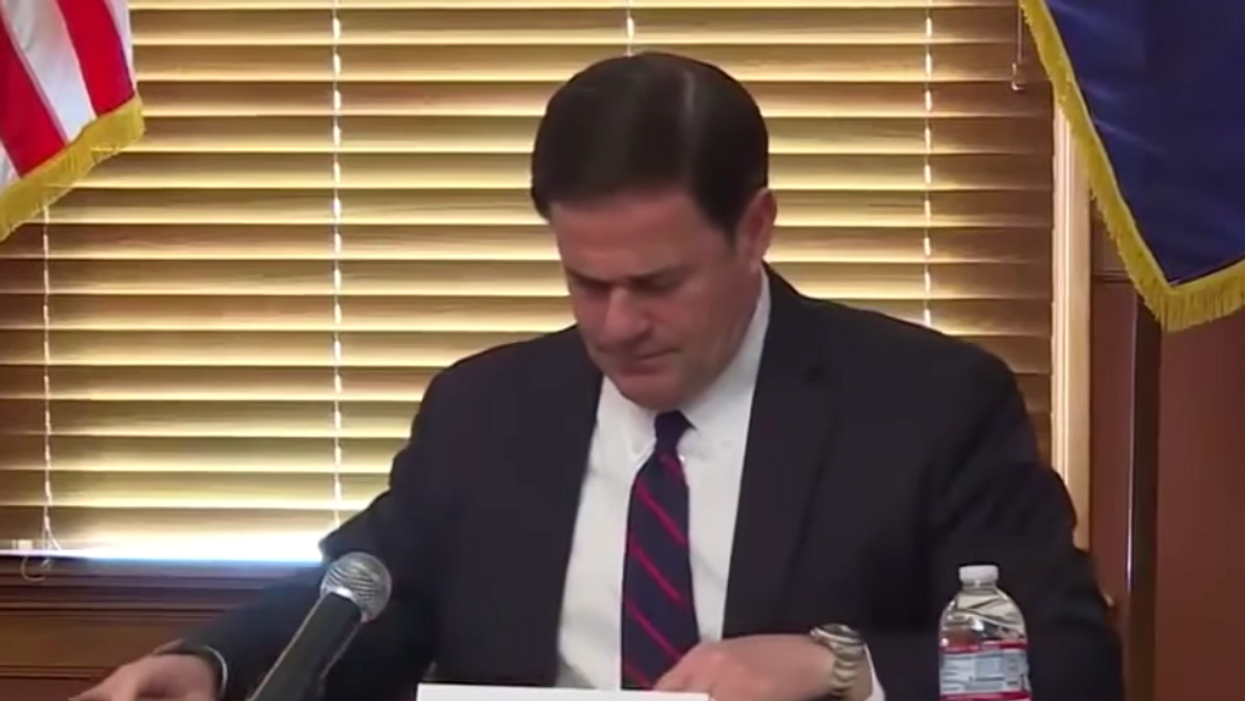 Watch: Arizona GOP governor 'ignored' call from White House while election results — now Trump is lashing out