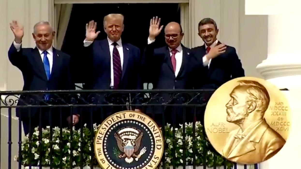 Watch: Trump never won the Nobel Peace Prize — but that's not stopping him from pretending he did