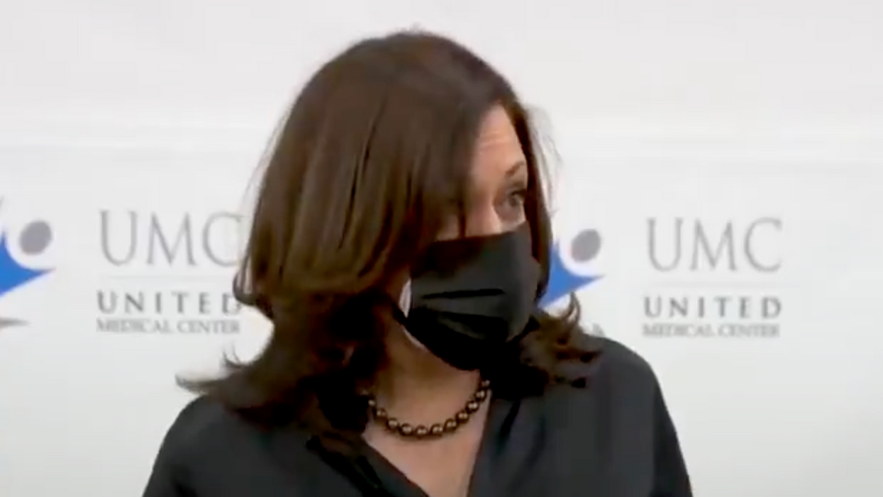 Vice President-elect Kamala Harris gets vaccinated: 'I trust the scientists'