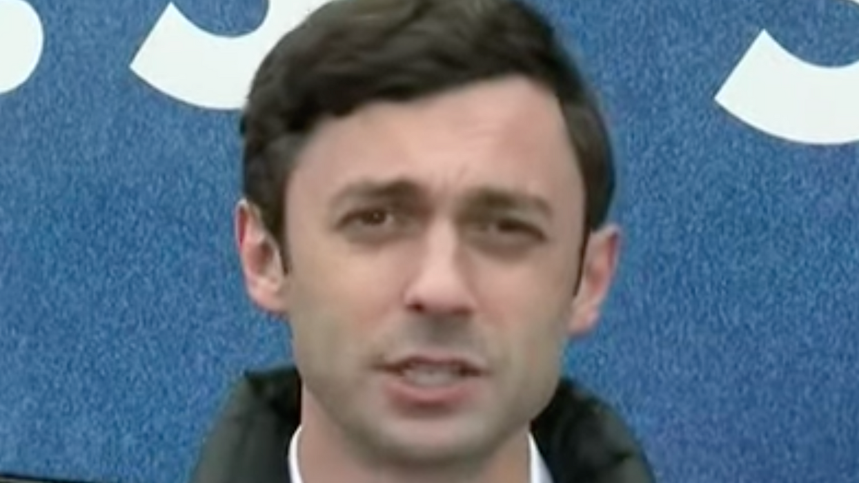 Watch: Jon Ossoff brilliantly turns the tables on a Fox News reporter who tried to corner him