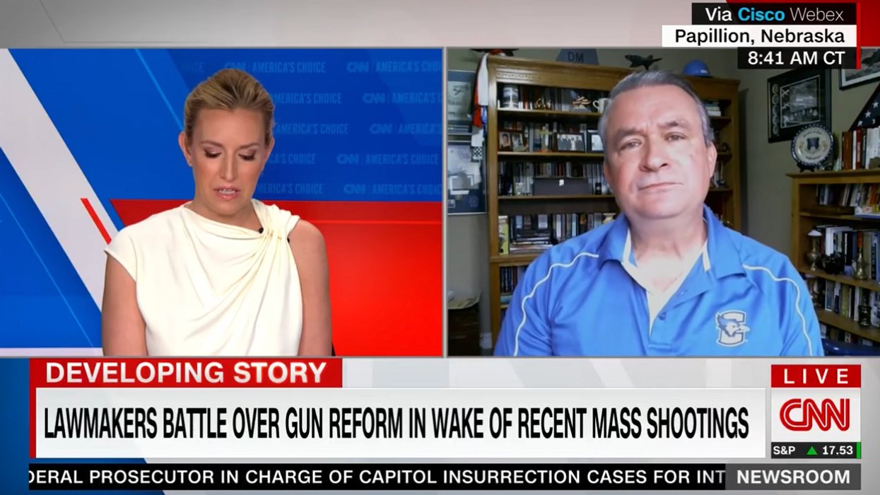 GOP Congressman smacked down on CNN for lying about House background check bill