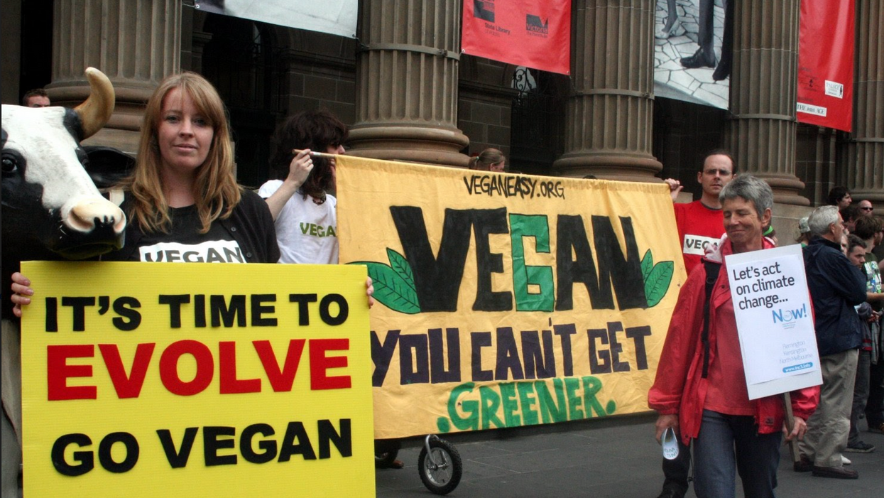 A call for more plant-based eating has started a meat war