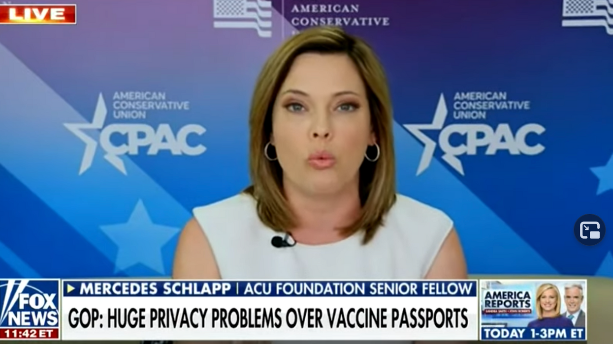 'I'm not going to put up with this!' Mercedes Schlapp melts down after Fox News guest calls her a 'grifter'