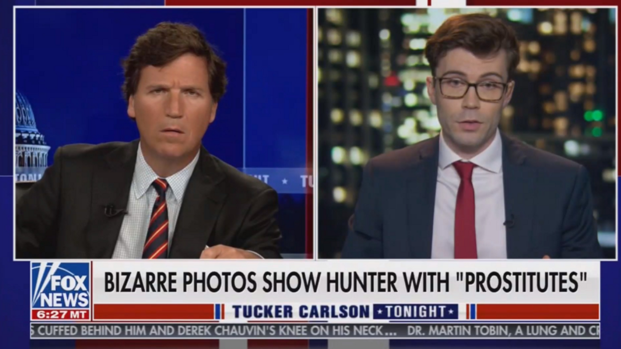 Fox News comes under fire after egregiously airing explicit images of alleged Hunter Biden sex tape