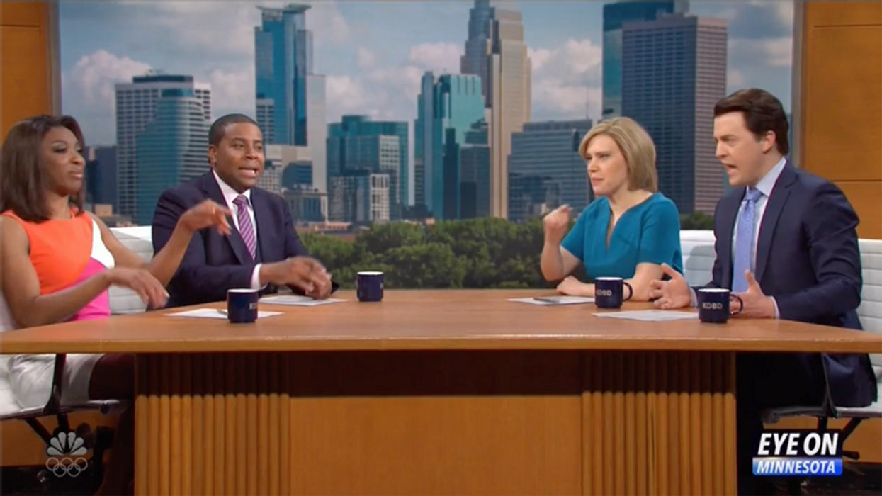 SNL brilliantly satirizes America's racial divide during the Derek Chauvin murder trial