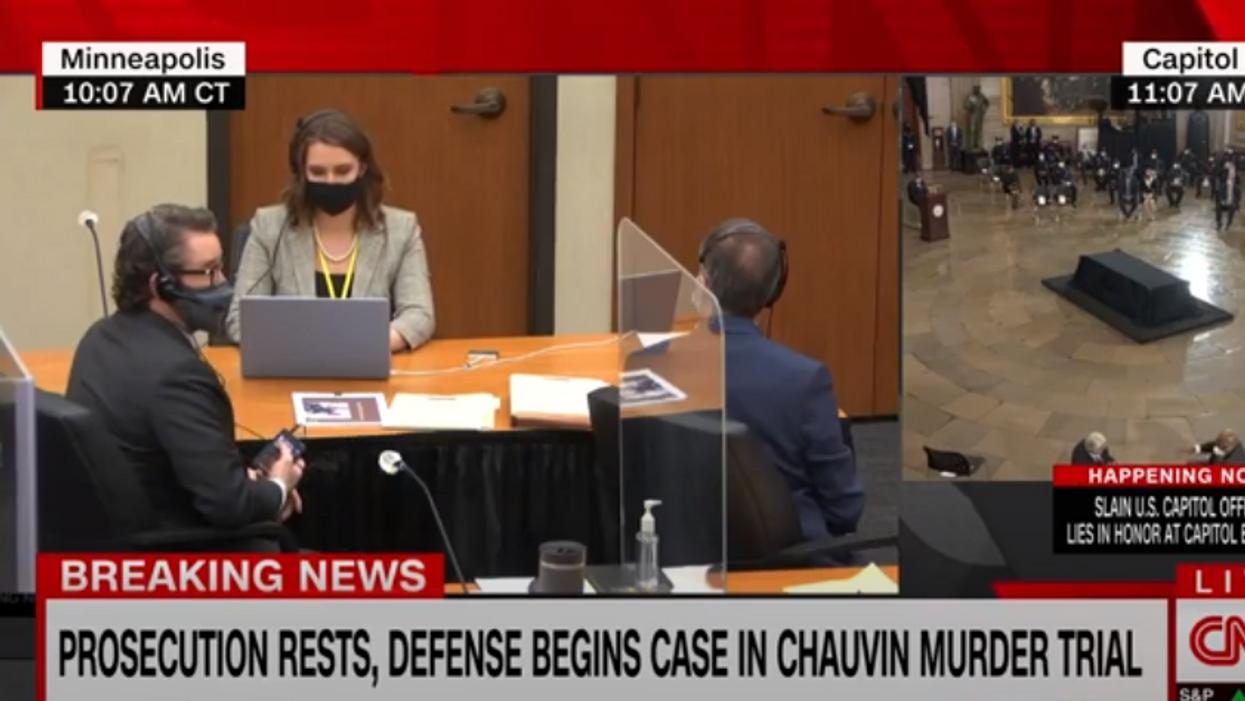 'What is this?' CNN legal analysts baffled by Derek Chauvin defense