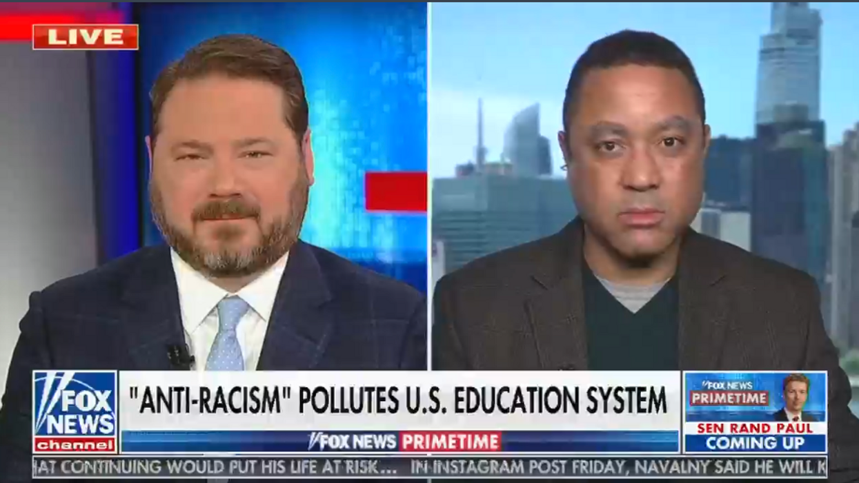 Fox News guest claims the 'hyper-woke' believe in 'a world where Black people don't have to do math'
